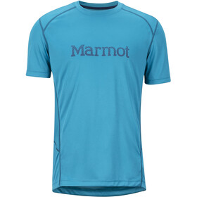 Marmot Windridge - T-shirt manches courtes Homme - with Graphic turquoise